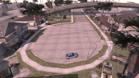Grove street - mapa para BeamNG Drive