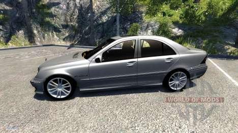 Mercedes-Benz C32 AMG para BeamNG Drive