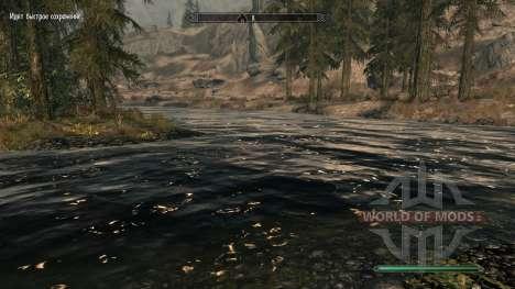 Águas pura-mod, que melhora a água para Skyrim