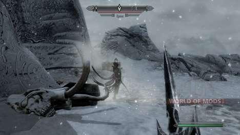 Marcadores para a missão com máscaras de dragão  para Skyrim segunda tela