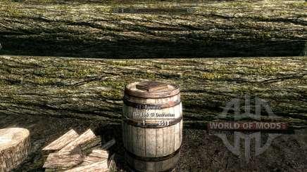 O livro de fluxo de magia de destruição para Skyrim