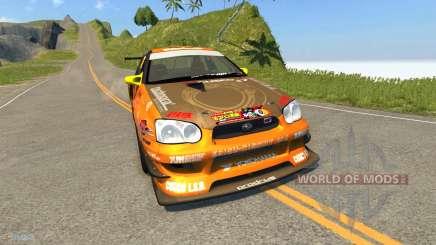 Subaru Impreza WRX para BeamNG Drive