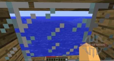 Flutuante navios para Minecraft