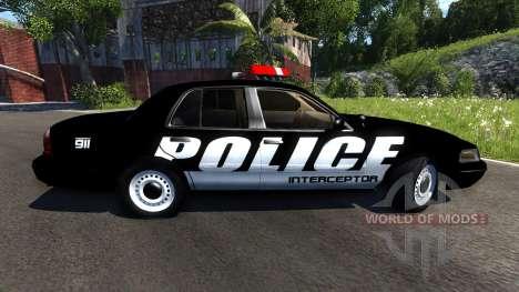Ford Crown Victoria Police Interceptor para BeamNG Drive