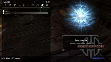 Chamada Sanguine para Skyrim