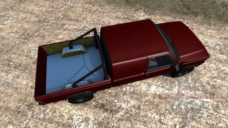 Gavril D-Series Crew Cab para BeamNG Drive