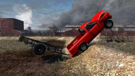 Gavril D-Series Trailer para BeamNG Drive