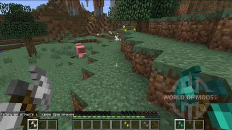 Novo sistema de combate para Minecraft