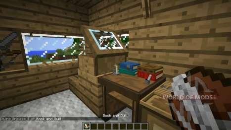 Novas estantes para Minecraft
