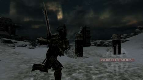Angrar Dragonfighter para Skyrim segunda tela
