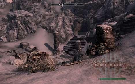 A armadura e as armas do Cavaleiro do dragão de  para Skyrim segunda tela
