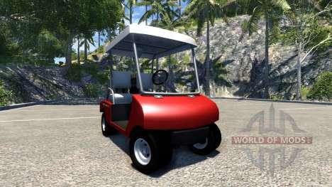Carrinho de golfe para BeamNG Drive