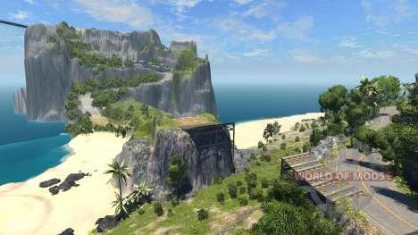 Local-ilha do Paraíso para BeamNG Drive