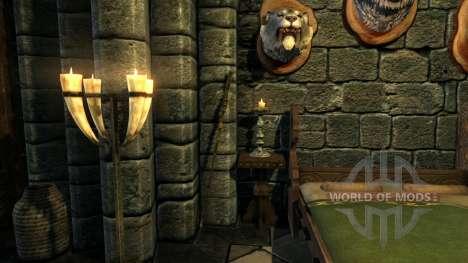 Pessoal sacerdote para Skyrim segunda tela