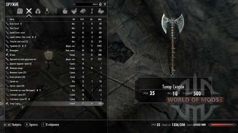 Não se encantou artefatos para Skyrim