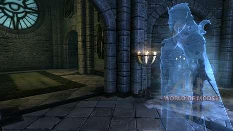 Pessoal sacerdote para a quarta tela Skyrim