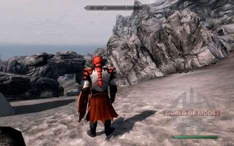 A armadura e as armas do Cavaleiro do dragão de  para Skyrim