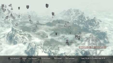 O espírito dos antigos para a terceira tela Skyrim