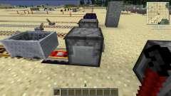 Reciclado Kraft trilhos para Minecraft