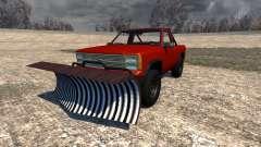 Gavril D-Series Snow Plow para BeamNG Drive