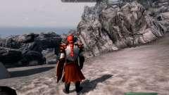 A armadura e as armas do Cavaleiro do dragão de