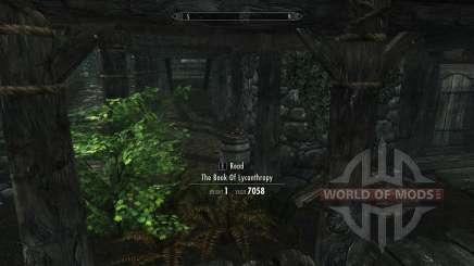 Obter regalias licantropia sem habilidade para Skyrim