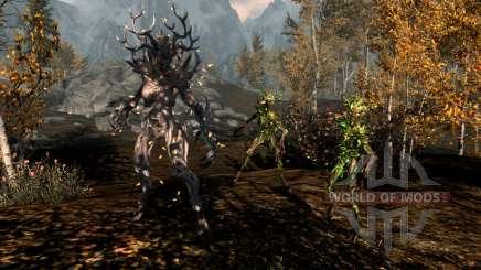 A magia do spriggan para Skyrim