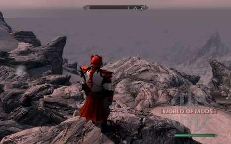 A armadura e as armas do Cavaleiro do dragão de  para Skyrim sexta tela