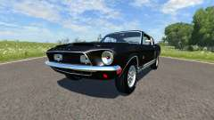 Ford Mustang Shelby Eleanor 1967 para BeamNG Drive