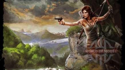 Roupas e as armas de Lara Croft para Skyrim