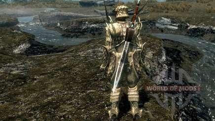 Armas e armaduras de Presente da moda De Kynareth para Skyrim