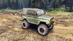 УАЗ-469 Monster Truck v3 para Spin Tires