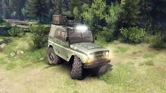 O UAZ-469 veículo para Spin Tires