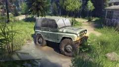 УАЗ-469 Monster Truck para Spin Tires