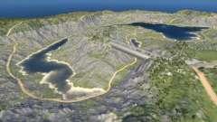 Localização Montanha - 0.2.0 para BeamNG Drive