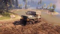 УАЗ-469 Monster Truck v1.1 para Spin Tires