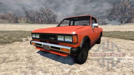 Datsun 720 1981 King Cab para BeamNG Drive