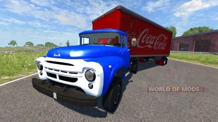 ZIL-V com semi Coca-Cola para BeamNG Drive