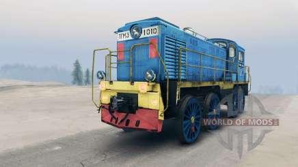 Locomotiva TGM para Spin Tires