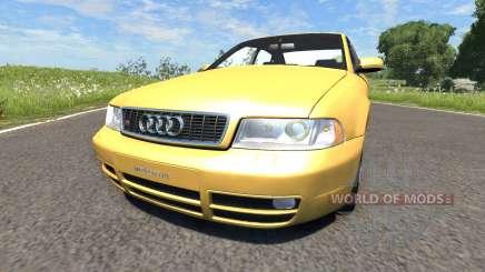Audi S4 2000 [Pantone 804 C] para BeamNG Drive