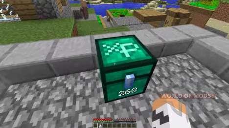 Peito de experiência para Minecraft
