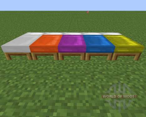 Dyeable Beds para Minecraft