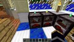 Um novo modelo de fogão para Minecraft