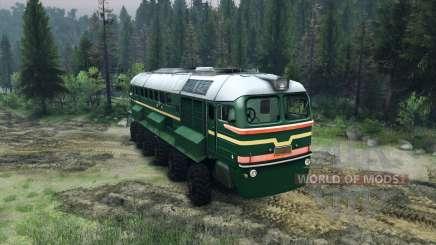 A Locomotiva A Diesel M62 para Spin Tires