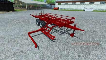 A escolha dos fardos redondos para Farming Simulator 2013
