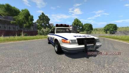 Vapid Police Cruiser para BeamNG Drive