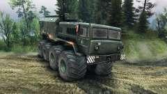 MAZ-535 do Monstro para Spin Tires