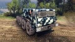 MAZ-535 camo v3 para Spin Tires