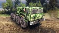 MAZ-535 camo v1 para Spin Tires