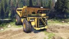 Caminhão de mineração para Spin Tires